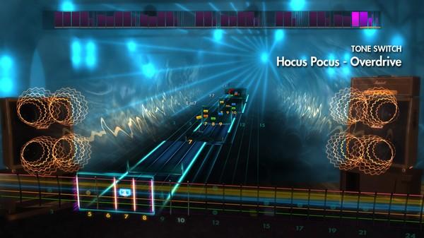 """Скриншот №3 к Rocksmith® 2014 – Focus - """"Hocus Pocus"""""""