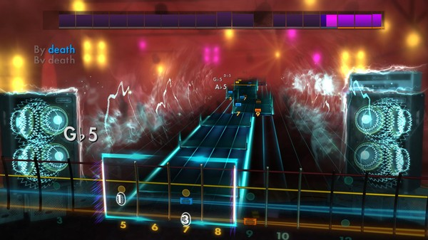 "Скриншот №5 к Rocksmith® 2014 – Motörhead - ""Killed by Death"""