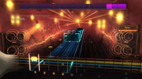 "Скриншот №4 к Rocksmith® 2014 – Motörhead - ""Killed by Death"""