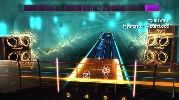 """Скриншот №3 к Rocksmith® 2014 – Def Leppard - """"Hysteria"""""""
