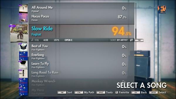 "Скриншот №3 к Rocksmith® 2014 – Foghat - ""Slow Ride"""