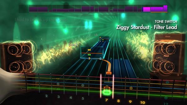 "Скриншот №2 к Rocksmith® 2014 – David Bowie - ""Ziggy Stardust"""