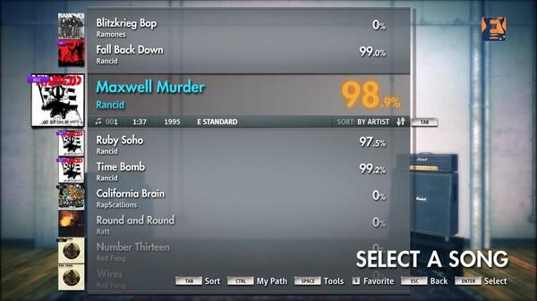 "Скриншот №2 к Rocksmith® 2014 – Rancid - ""Maxwell Murder"""
