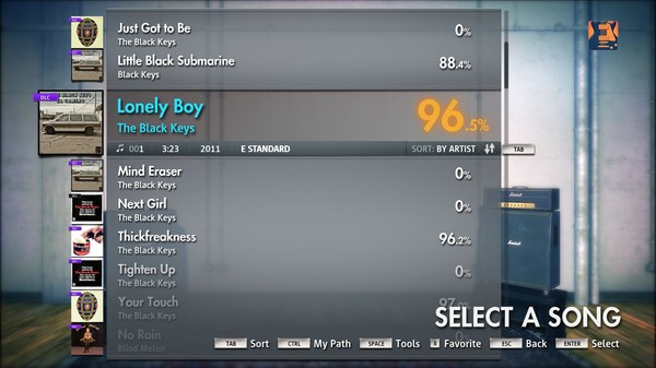 "Скриншот №1 к Rocksmith® 2014 – The Black Keys - ""Lonely Boy"""