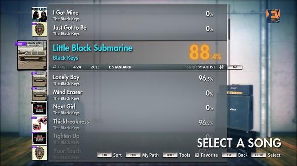 "Скриншот №4 к Rocksmith® 2014 – The Black Keys - ""Little Black Submarines"""