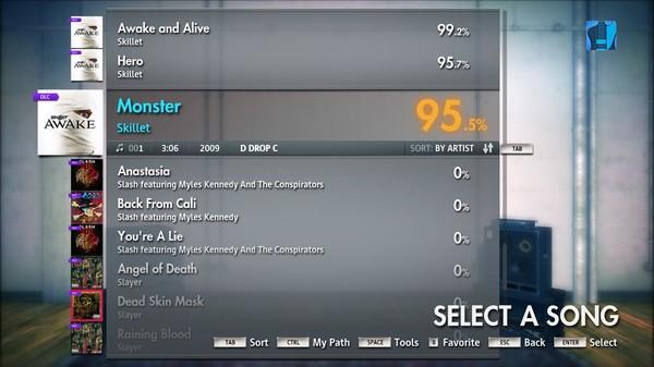 "Скриншот №3 к Rocksmith® 2014 – Skillet - ""Monster"""