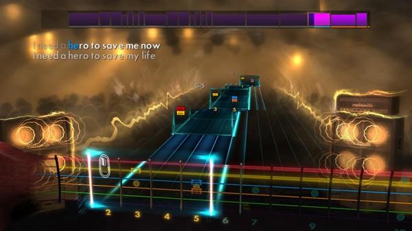 "Скриншот №2 к Rocksmith® 2014 – Skillet - ""Hero"""