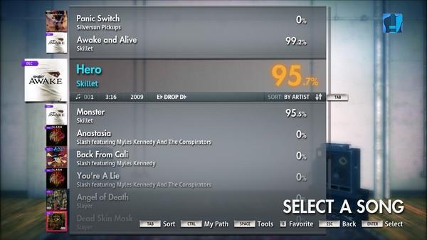 "Скриншот №3 к Rocksmith® 2014 – Skillet - ""Hero"""