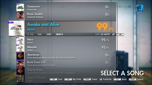 "Скриншот №3 к Rocksmith® 2014 – Skillet - ""Awake and Alive"""