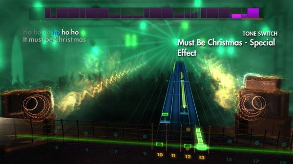 """Скриншот №1 к Rocksmith® 2014 – Band of Merrymakers - """"Must Be Christmas"""""""