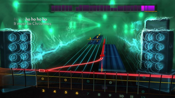 """Скриншот №4 к Rocksmith® 2014 – Band of Merrymakers - """"Must Be Christmas"""""""