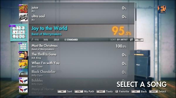 "Скриншот №1 к Rocksmith® 2014 – Band of Merrymakers - ""Joy to the World"""