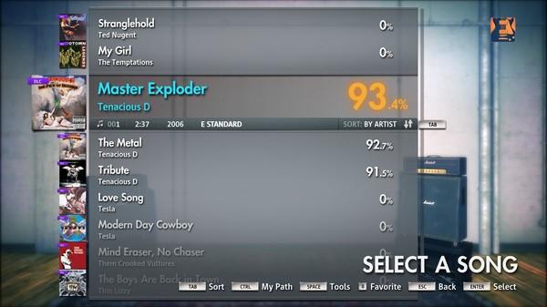 "Скриншот №5 к Rocksmith® 2014 – Tenacious D - ""Master Exploder"""