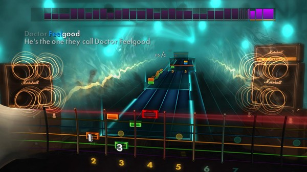 "Скриншот №3 к Rocksmith® 2014 – Mötley Crüe - ""Dr. Feelgood"""