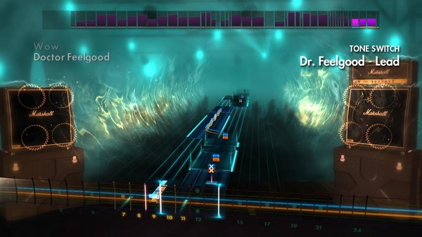 "Скриншот №2 к Rocksmith® 2014 – Mötley Crüe - ""Dr. Feelgood"""