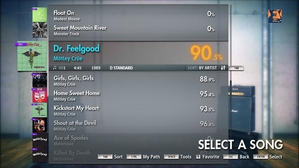 "Скриншот №5 к Rocksmith® 2014 – Mötley Crüe - ""Dr. Feelgood"""