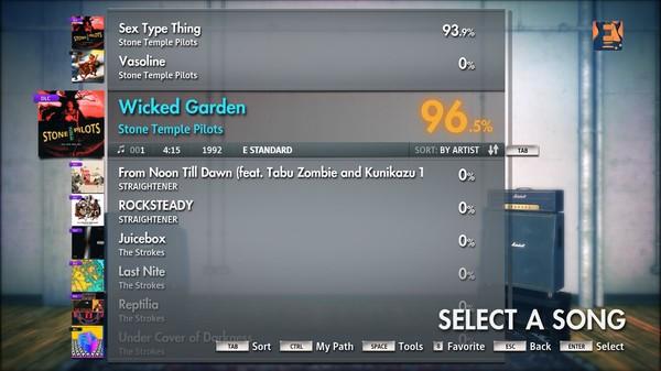 "Скриншот №3 к Rocksmith® 2014 – Stone Temple Pilots - ""Wicked Garden"""