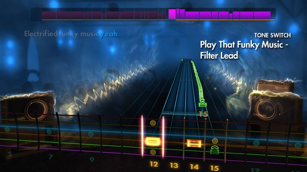 "Скриншот №1 к Rocksmith® 2014 – Wild Cherry - ""Play That Funky Music"""