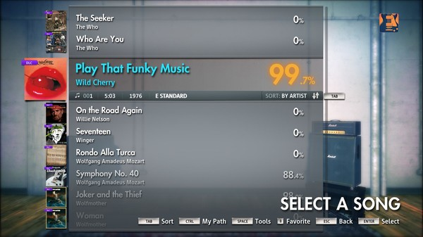 "Скриншот №3 к Rocksmith® 2014 – Wild Cherry - ""Play That Funky Music"""