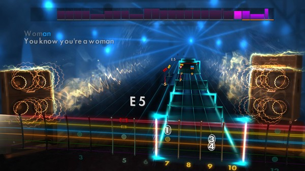 Скриншот №5 к Rocksmith® 2014 – Hit Singles Song Pack III