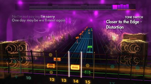 "Скриншот №2 к Rocksmith® 2014 – Thirty Seconds to Mars - ""Closer to the Edge"""