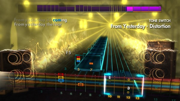 Скриншот №3 к Rocksmith® 2014 – Thirty Seconds to Mars Song Pack