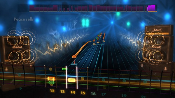 "Скриншот №3 к Rocksmith® 2014 – Megadeth - ""Peace Sells"""