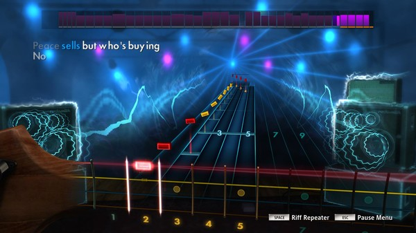 "Скриншот №2 к Rocksmith® 2014 – Megadeth - ""Peace Sells"""