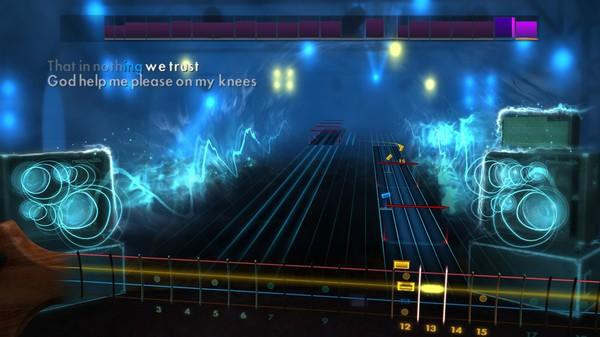 """Скриншот №3 к Rocksmith® 2014 – Megadeth - """"Trust"""""""