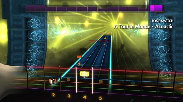 "Скриншот №3 к Rocksmith® 2014 – Megadeth - ""A Tout Le Monde"""