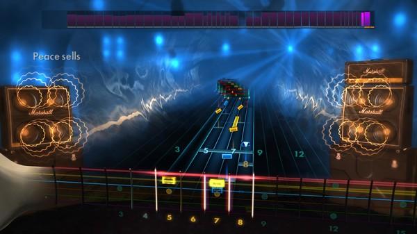Скриншот №2 к Rocksmith® 2014 – Megadeth Song Pack II
