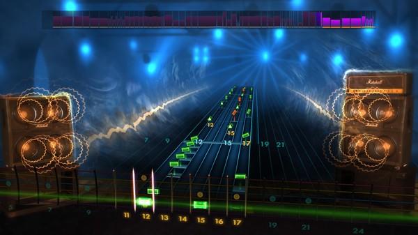 Скриншот №1 к Rocksmith® 2014 – Megadeth Song Pack II