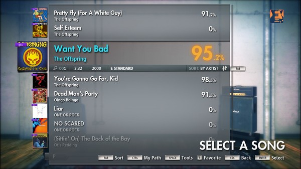 "Скриншот №4 к Rocksmith® 2014 – The Offspring - ""Want You Bad"""