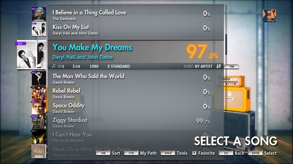 "Скриншот №3 к Rocksmith® 2014 – Daryl Hall and John Oates - ""You Make My Dreams"""