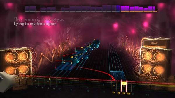 Скриншот №2 к Rocksmith® 2014 – Hit Singles Song Pack IV