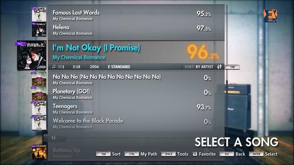 "Скриншот №4 к Rocksmith® 2014 – My Chemical Romance - ""Im Not Okay I Promise"""