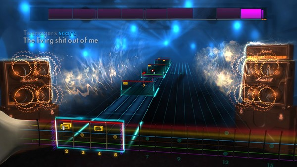 "Скриншот №2 к Rocksmith® 2014 – My Chemical Romance - ""Teenagers"""