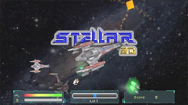 скриншот Stellar 2D 0