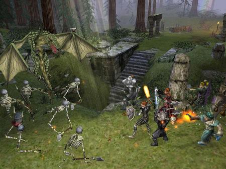 Dungeon Siege скриншот