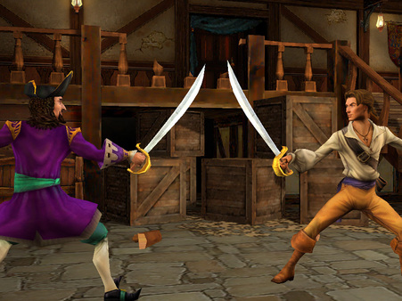 Скриншот №1 к Sid Meiers Pirates!