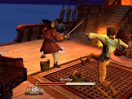 Скриншот №3 к Sid Meiers Pirates!