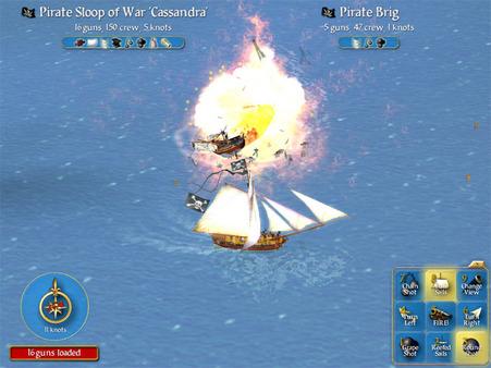 Sid Meier's Pirates! скриншот