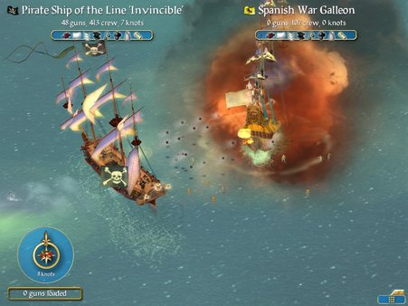 Скриншот №5 к Sid Meiers Pirates!