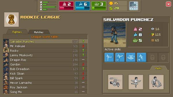 Punch Club скриншот