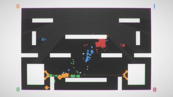 Скриншот №1 к Square Brawl