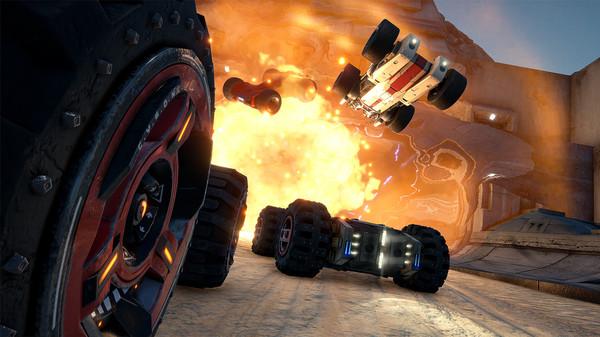Скриншот №10 к GRIP Combat Racing