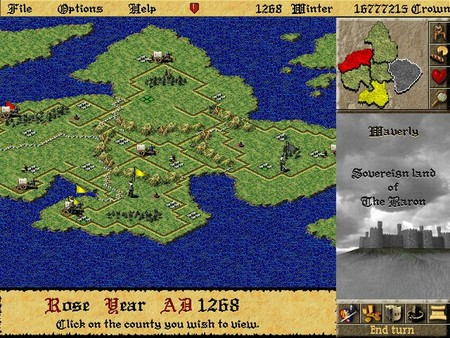 Screenshot of Lords of the Realm II