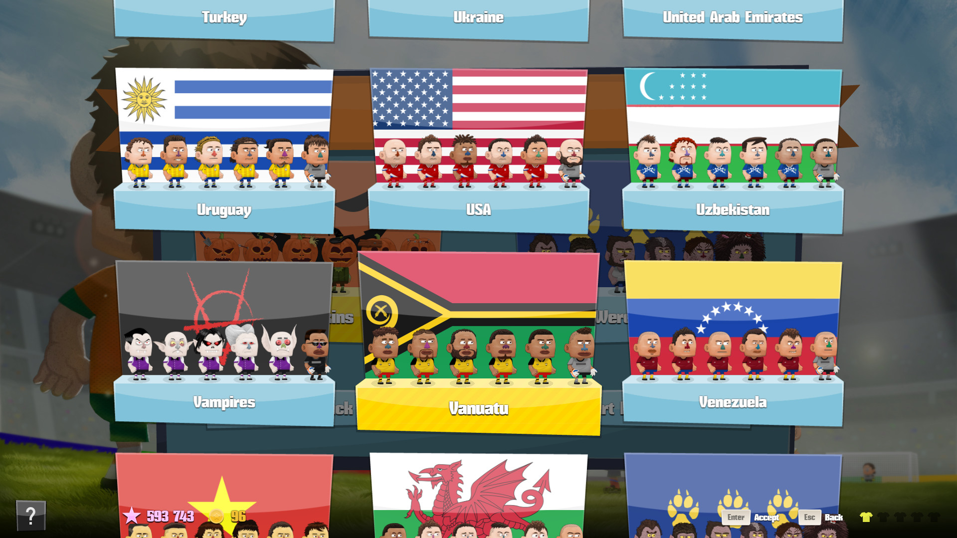 Kopanito All-Stars Soccer Screenshot 1