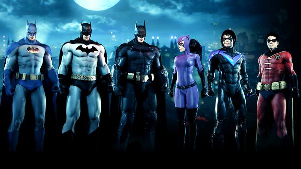 Скриншот №1 к Batman™ Arkham Knight - Bat-Family Skin Pack