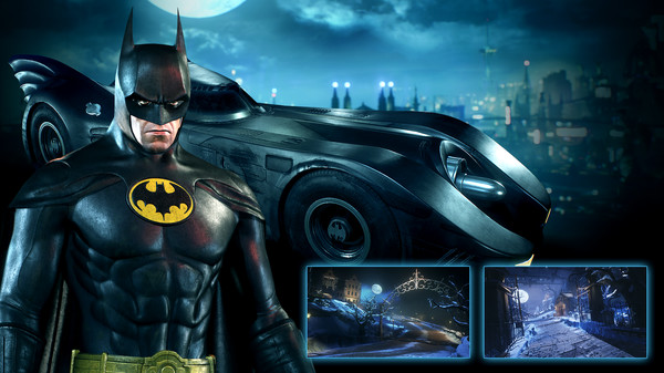 Скриншот №1 к Batman™ Arkham Knight - 1989 Movie Batmobile Pack